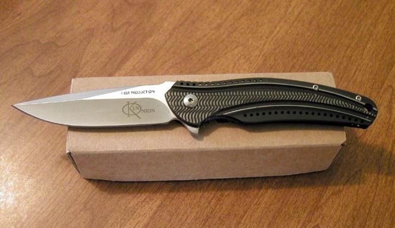 Фото 3 - Складной нож CRKT Ripple Charcoal, сталь Acuto 440, рукоять нержавеющая сталь 420J2