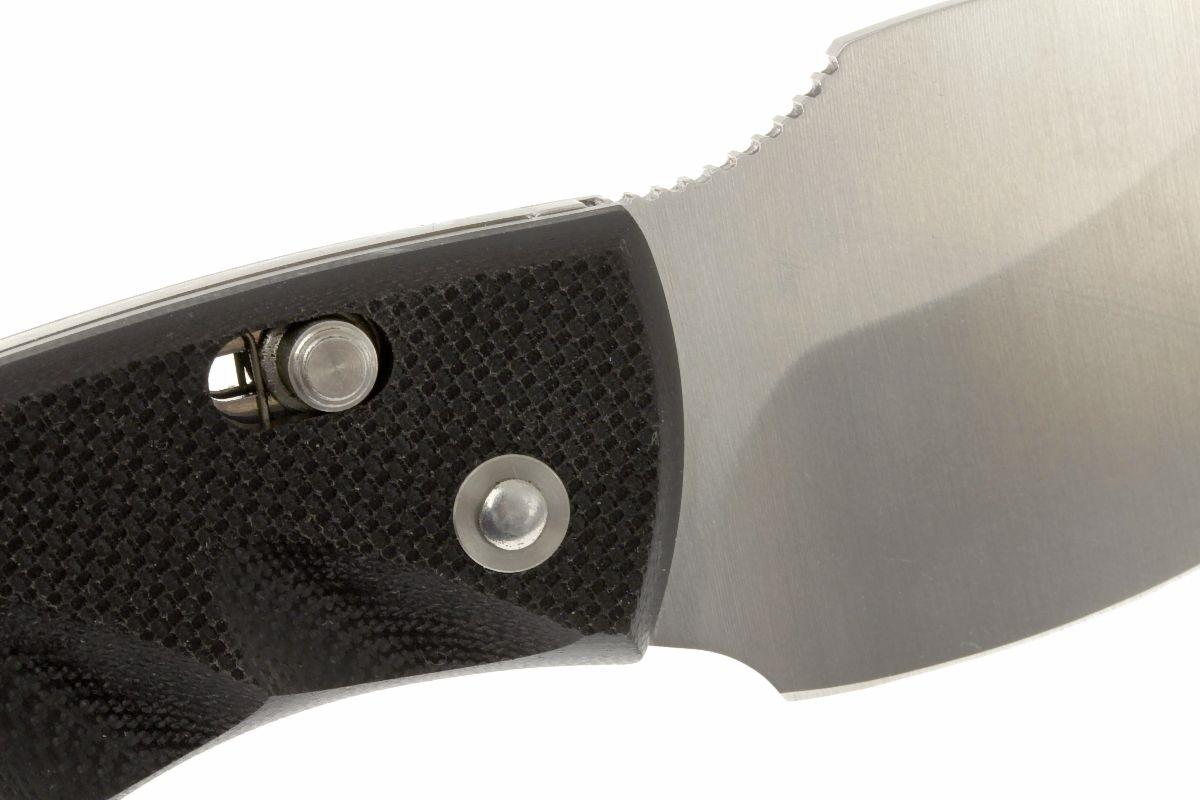 Фото 12 - Нож складной LionSteel Skinner 8901 G10, сталь 440C Satin Finish, рукоять стеклотекстолит, чёрный от Lion Steel