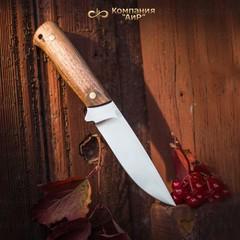 """Нож разделочный АиР """"Стриж"""" ЦМ, сталь М390, рукоять дерево, фото 7"""