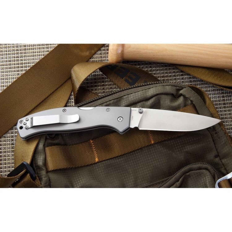 Фото 7 - Складной нож Boker Plus Titan Drop 01BO188, сталь 440C, рукоять титан