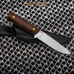 """Нож разделочный АиР """"Стриж"""" ЦМ, сталь М390, рукоять дерево, фото 10"""