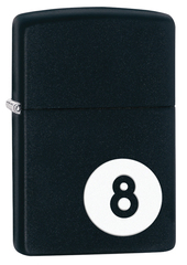 Зажигалка ZIPPO Classic Шар, покрытие Black Matte, фото 1
