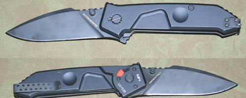 Фото 6 - Складной нож Extrema Ratio MF1 Black, сталь N690, рукоять алюминий
