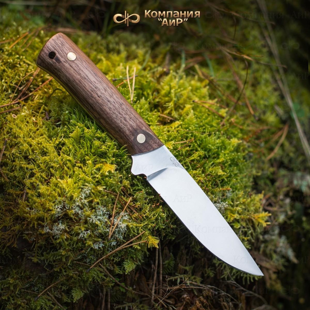 Нож разделочный АиР Стриж ЦМ, сталь М390, рукоять дерево нож разделочный стриж цм дерево 100х13м аир