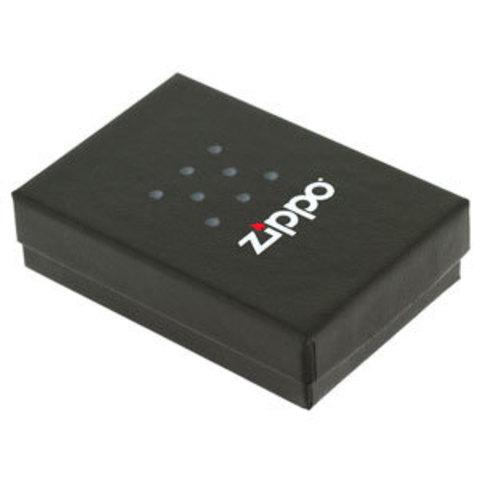 Зажигалка ZIPPO Classic Шар, покрытие Black Matte. Вид 2