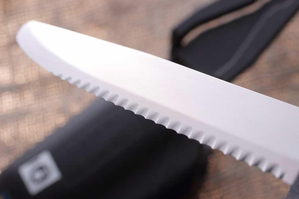 Фото 6 - Нож с фиксированным лезвием Morakniv Marine Rescue 541, сталь Sandvik 12C27, рукоять пластик