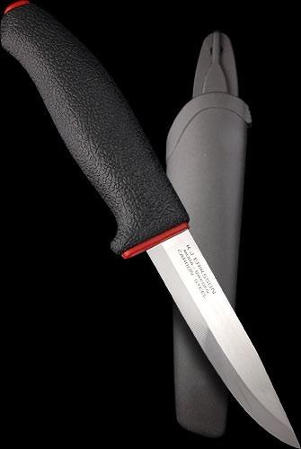 Фото 7 - Нож с фиксированным лезвием Morakniv ALLROUND 711, углеродистая сталь, рукоять пластик
