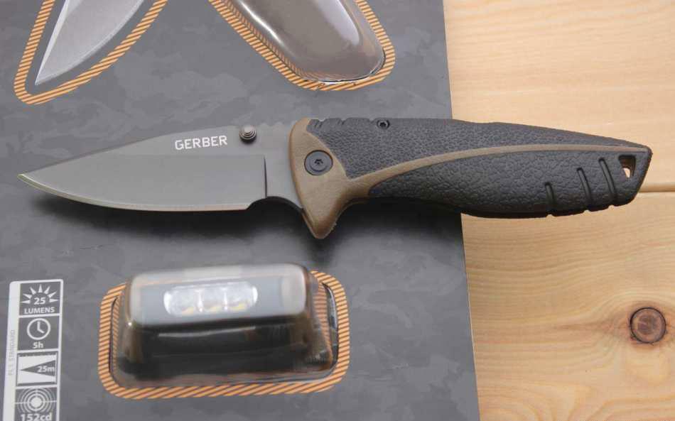 Фото 8 - Складной нож с фонариком Gerber Myth Folder, сталь 7Cr17MoV, рукоять стеклонейлон