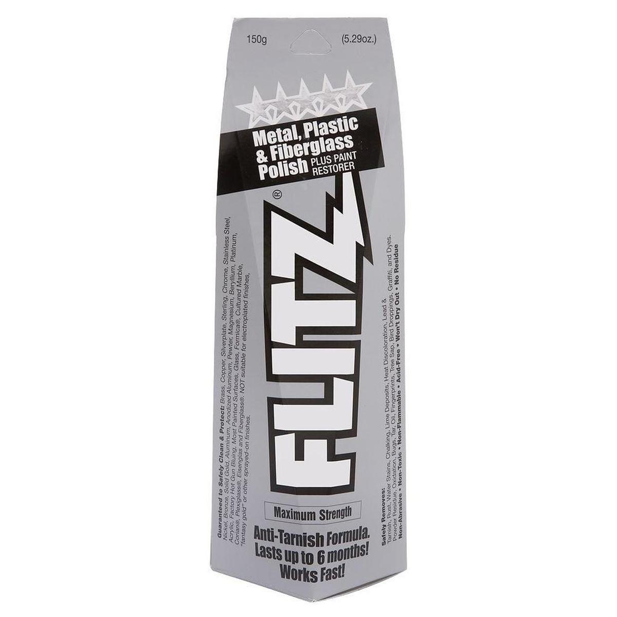 Крем-паста полировальная Flitz, 150гр.