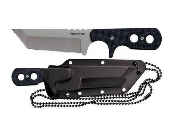 Фото 4 - Нож Mini Tac Tanto, сталь AUS-8A от Cold Steel