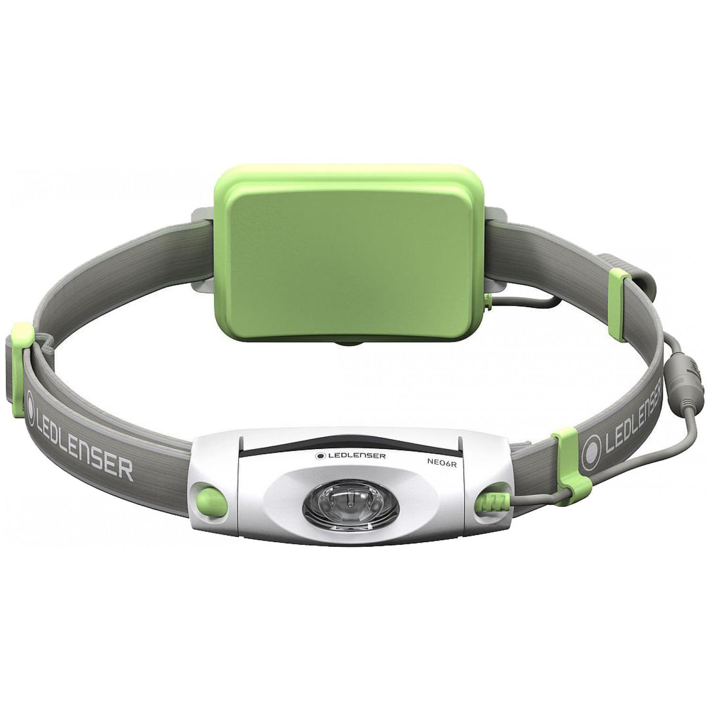 Фонарь светодиодный налобный LED Lenser NEO6R зеленый, 240 лм., аккумулятор фонарь светодиодный налобный led lenser neo4 синий 240 лм 3 ааа