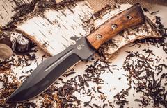Нож Армейский с антибликовым покрытием