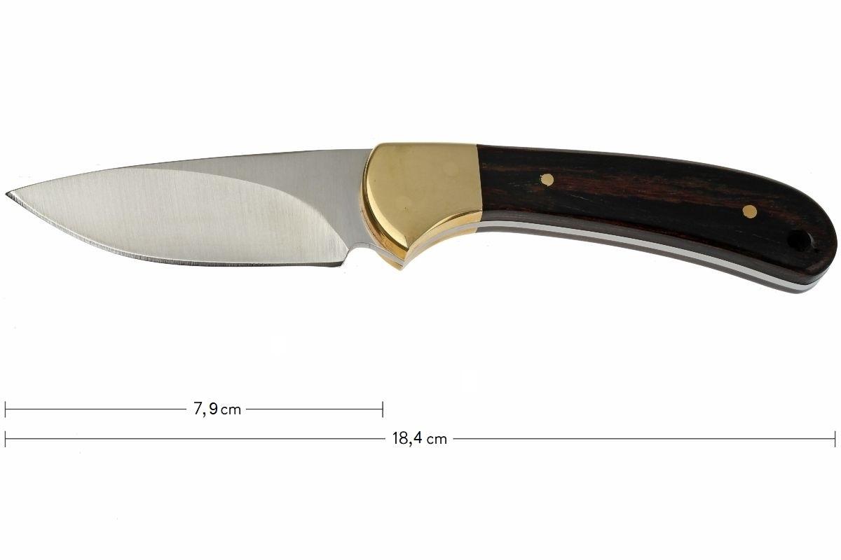 Фото 5 - Нож с фиксированным клинком 113 Ranger Skinner - BUCK 0113BRS, сталь 420HC, рукоять орех