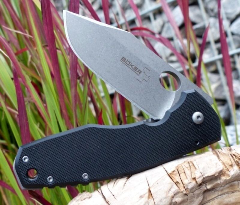 Фото 16 - Нож складной Vox F3 G-10 - Boker Plus 01BO336, сталь Crucible CPM® S35VN™, рукоять стеклотекстолит G10/титан