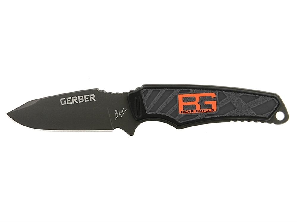 Фото 9 - Нож Gerber Bear Grylls Ultra Compact Fixed Blade, сталь 7Cr17MoV, рукоять термопластик GRN от BearGrylls
