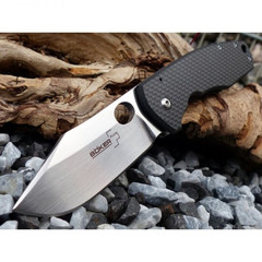 Нож складной Vox F3 G-10 - Boker Plus 01BO336, сталь Crucible CPM® S35VN™, рукоять стеклотекстолит G10/титан, фото 16