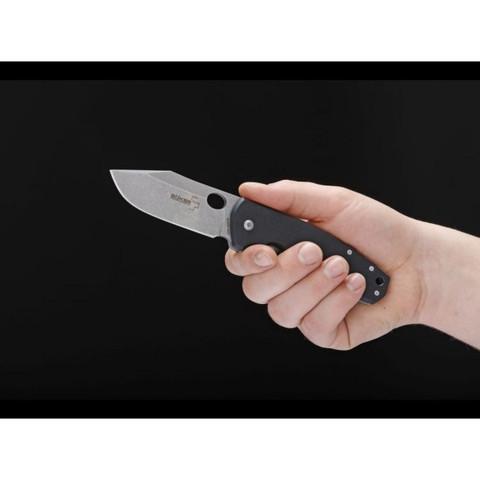Нож складной Vox F3 G-10 - Boker Plus 01BO336, сталь Crucible CPM® S35VN™, рукоять стеклотекстолит G10/титан