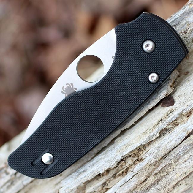 Фото 8 - Складной нож Spyderco Lil' Native, CPM S30V, G10, Serrated Blade
