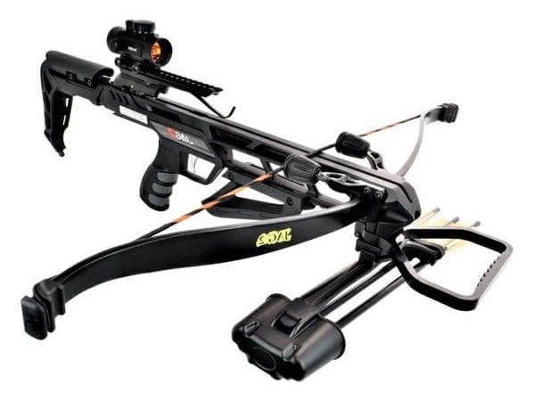 Арбалет рекурсивный Ek Jag 2 Pro (Скорпион 2) черный (c комплектацией) от Ek Archery