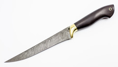 Нож Филейный-1, дамаск