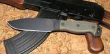 Нож с фиксированным клинком Ontario RD6 Black Micarta - купить в интернет магазине