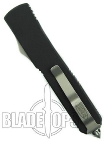 Автоматический выкидной нож Ultratech Tanto Black Standard 8.7 см.. Вид 2