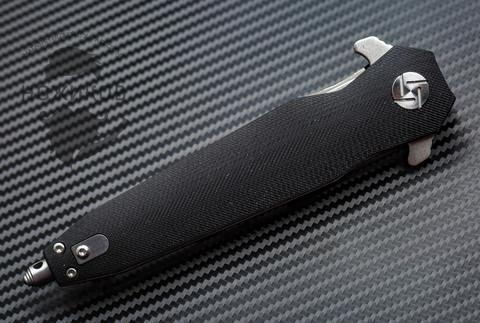 Складной нож Artisan Hornet Black, сталь D2, G10