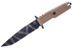 Нож с фиксированным клинком Col Moschin Desert Warfare - Laser Engraving