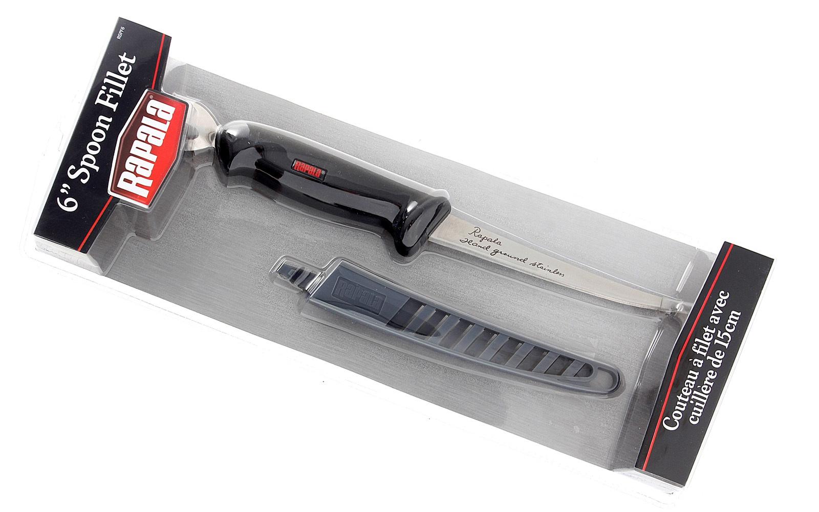 Фото 6 - Филейный нож, Rapala, FNC6, нержавеющая сталь, пластиковый чехол, блистер