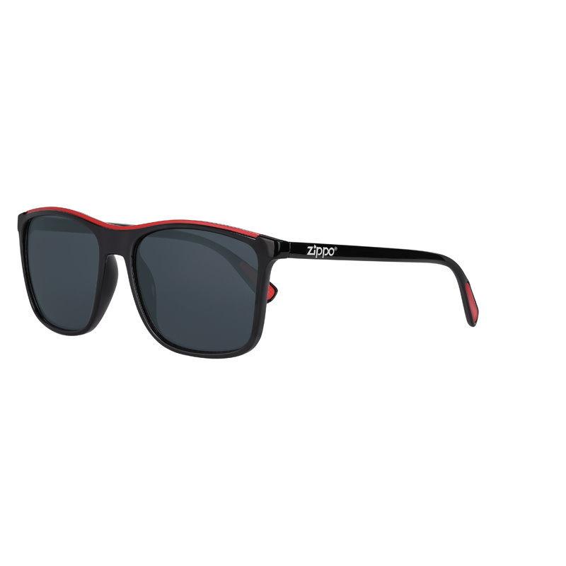 Фото - Очки солнцезащитные ZIPPO OB94-03, унисекс, чёрные, оправа из поликарбоната очки солнцезащитные zippo ob70 01 унисекс чёрные оправа из поликарбоната