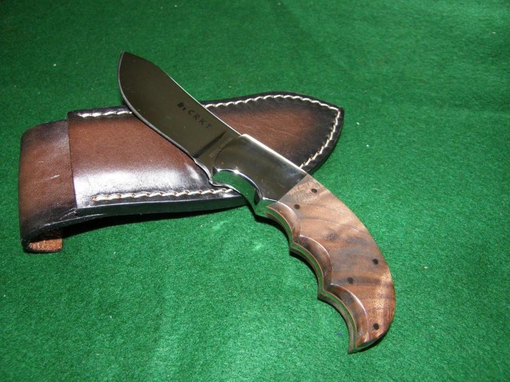 Фото 9 - Нож с фиксированным клинком CRKT Bez Tine, сталь 1. 4116 (X50CrMoV 15), рукоять дерево