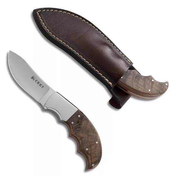 Фото 7 - Нож с фиксированным клинком CRKT Bez Tine, сталь 1. 4116 (X50CrMoV 15), рукоять дерево