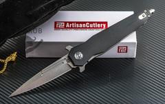 Складной нож Artisan Hornet Black, сталь D2, G10, фото 8