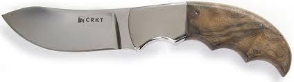 Фото 8 - Нож с фиксированным клинком CRKT Bez Tine, сталь 1. 4116 (X50CrMoV 15), рукоять дерево