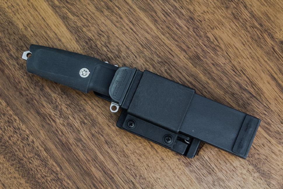 Фото 3 - Нож с фиксированным клинком Extrema Ratio Shrapnel OG, Special Edition, Satin Finish Blade, сталь Bhler N690, рукоять пластик