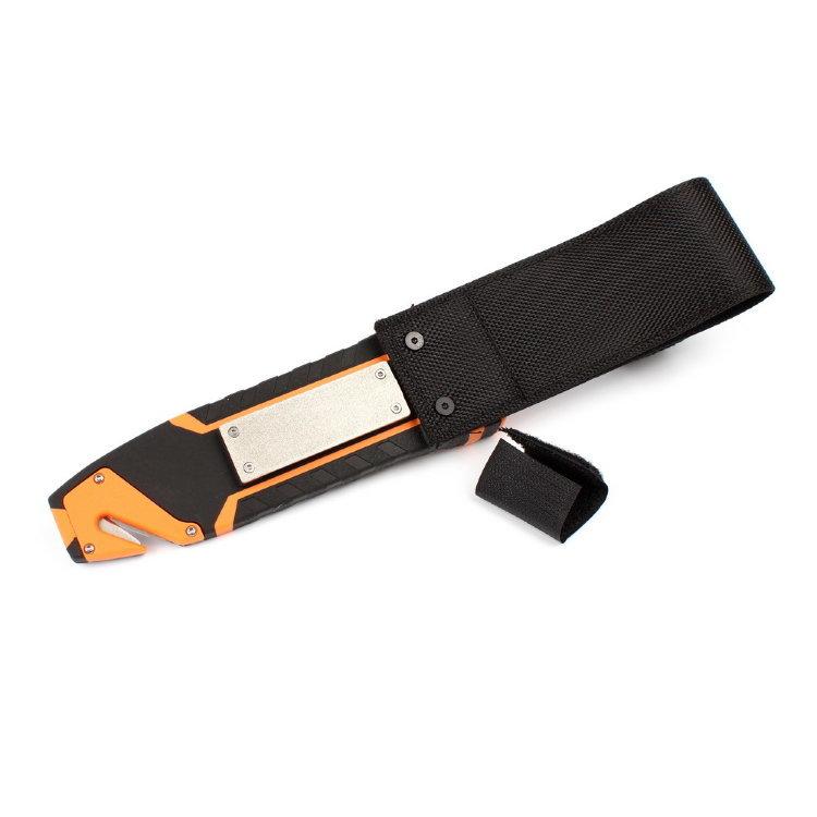 Фото 19 - Нож для выживания с огнивом и точилкой Firebird (by Ganzo) G803-OR