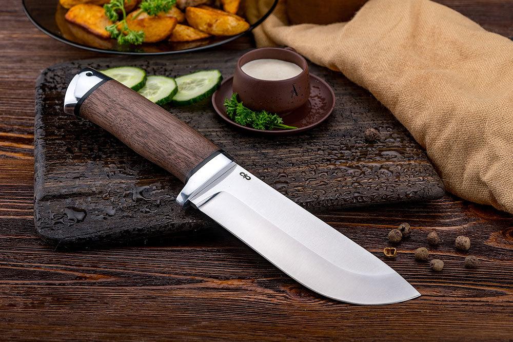 Нож разделочный Толстяк дерево, 95х18, АиР