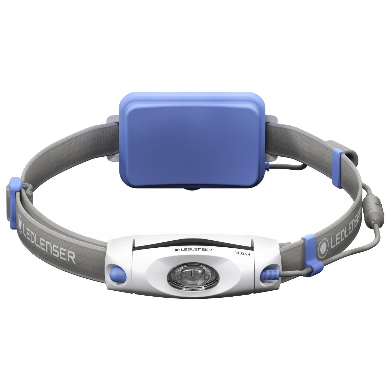 Фонарь светодиодный налобный LED Lenser NEO6R синий, 240 лм., аккумулятор фонарь светодиодный налобный led lenser neo6r синий 240 лм аккумулятор