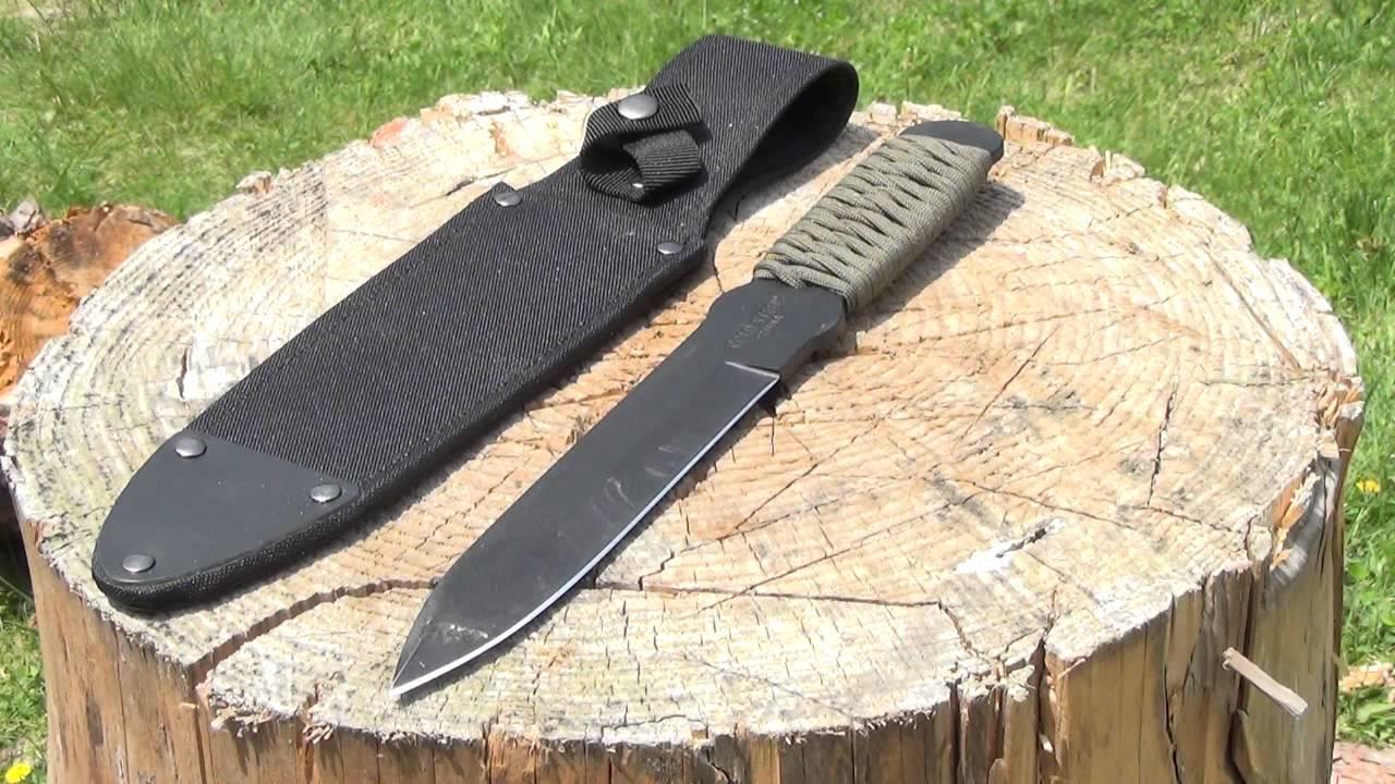 Фото 11 - Метательный нож True Flight Thrower - Cold Steel 80TFTC, углеродистая сталь 1055C, рукоять паракорд (намотка)
