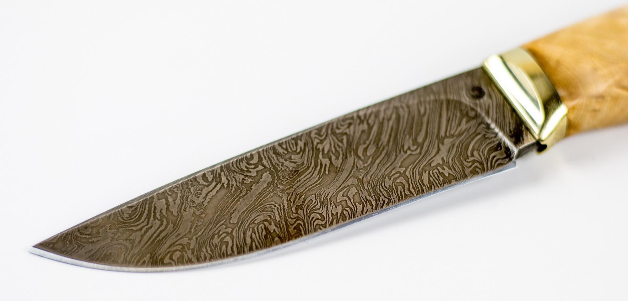 Фото 7 - Нож Гид,  дамасская сталь от Ножи Крутова