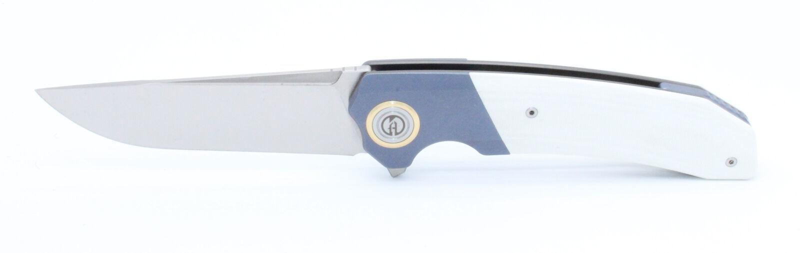 Складной нож Maxace Goliath Steel White , сталь Bohler K110