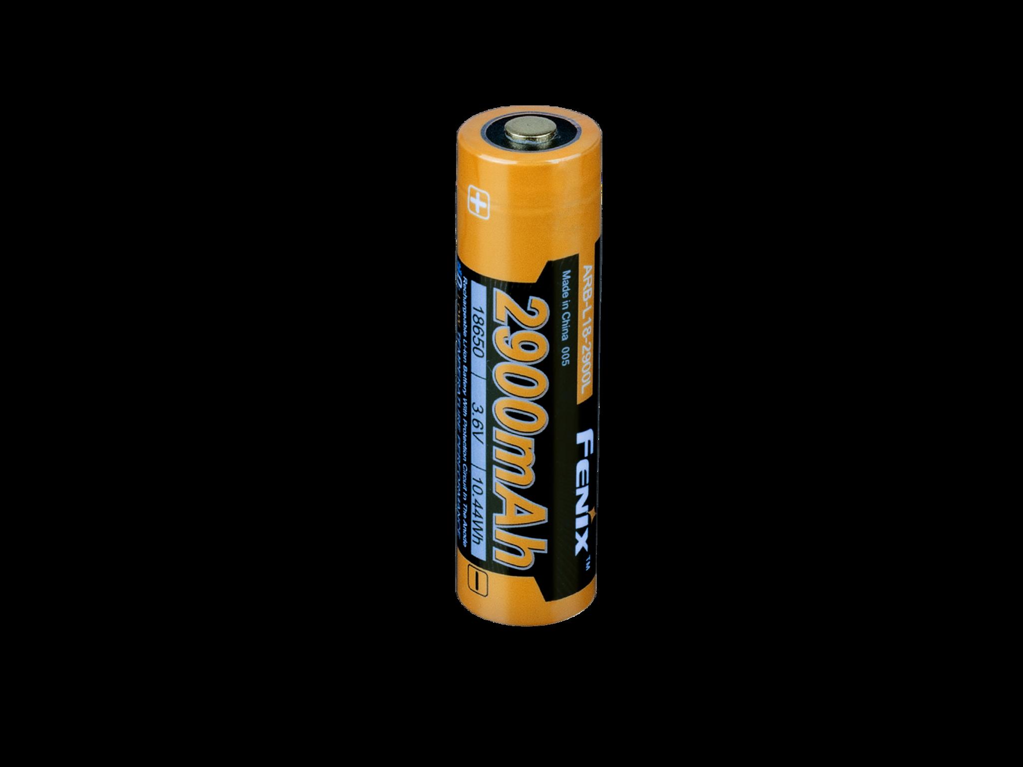 Аккумулятор 18650 Fenix 2900 mAh Li-ion морозостойкий цена
