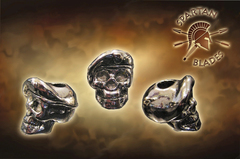 Темляк с бусиной Black Para-Cord Lanyard with Beret Skull Bead