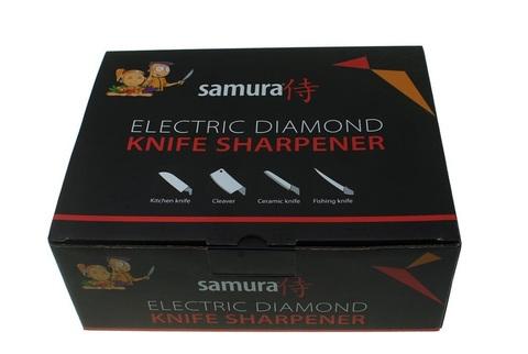 Электрическая алмазная точилка для стальных ножей Samura SEC-2000