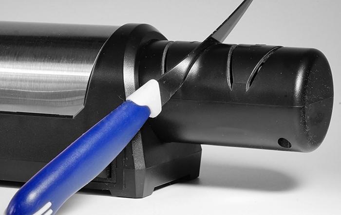 Фото 7 - Электрическая алмазная точилка для стальных ножей Samura SEC-2000