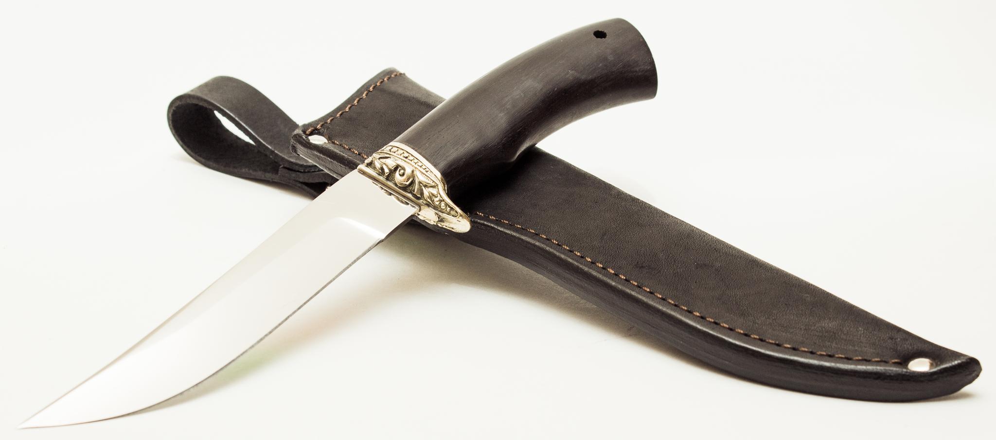 Фото 8 - Нож туристический Форель из нержавеющей стали 65х13 от АТАКА