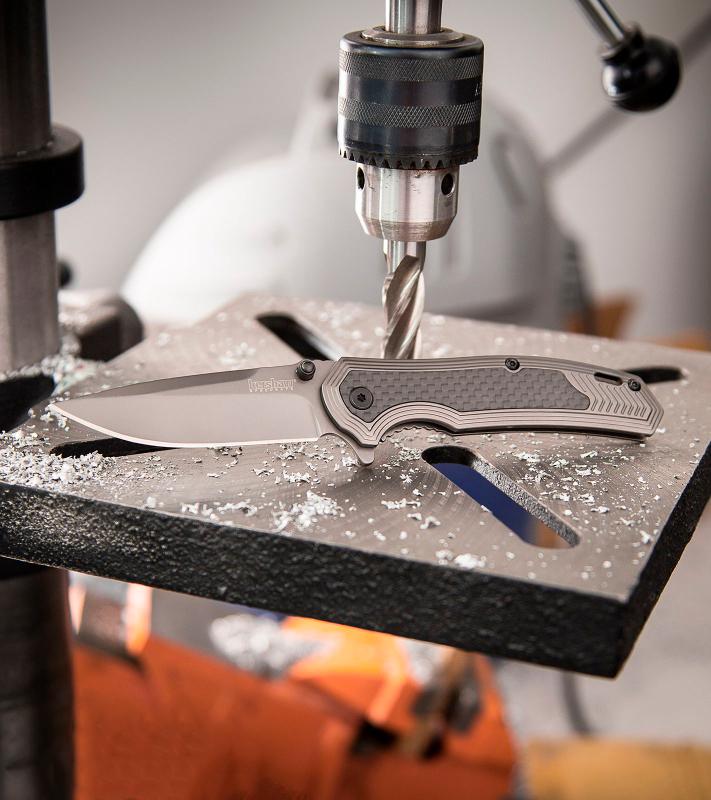 Фото 5 - Нож складной Fringe - Kershaw 8310, сталь 8Cr13MOV, рукоять G-10/карбон