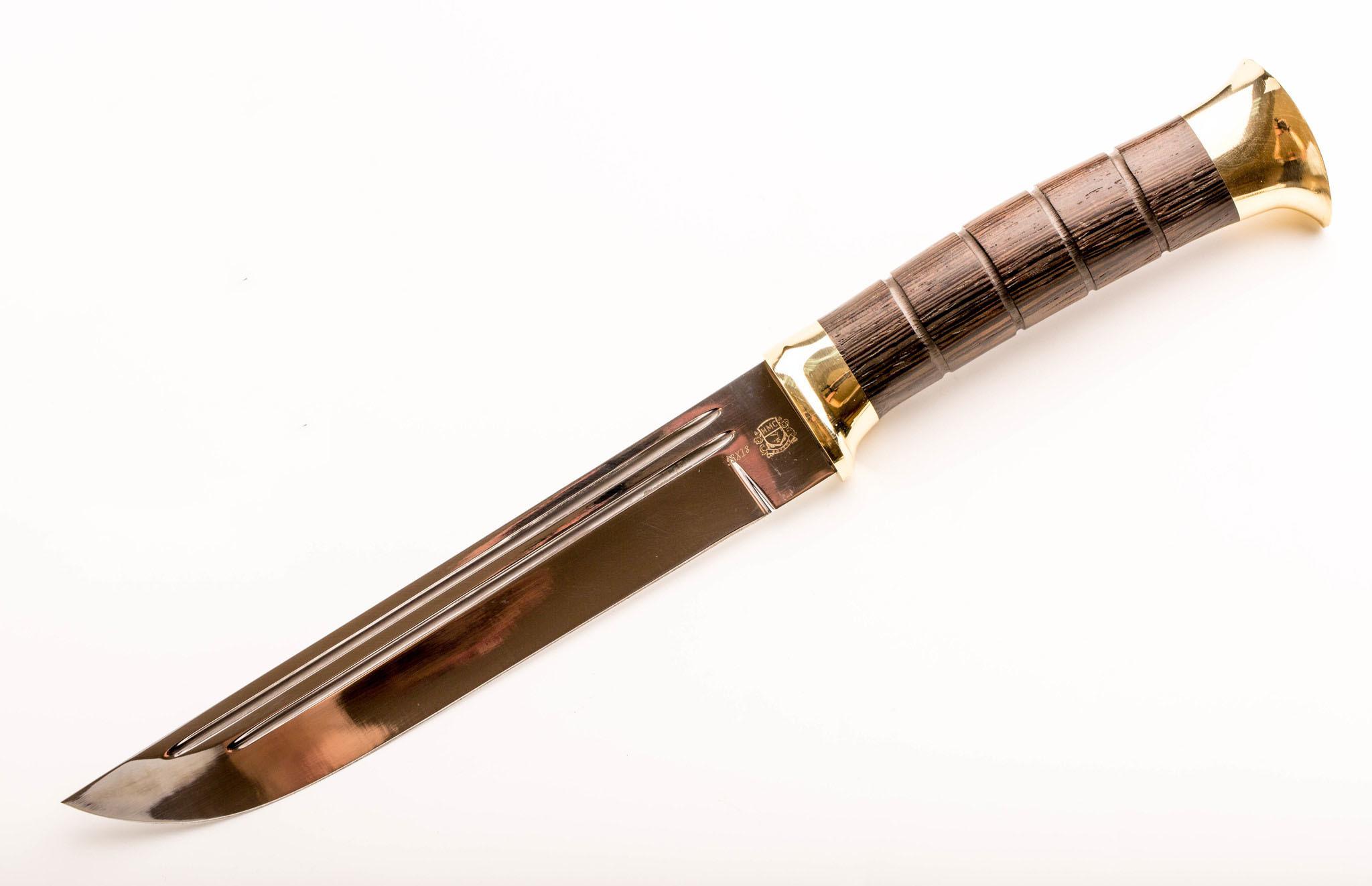 Нож Пластунский малый, сталь 95Х18, рукоять венге