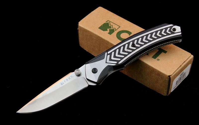Фото 6 - Полуавтоматический складной нож Lift Off 2, CRKT 6820, сталь AUS-8, рукоять термопластик Zytel®/сталь