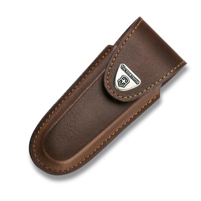 Фото 3 - Чехол для ножа Victorinox Leather Belt Pouch, коричневый